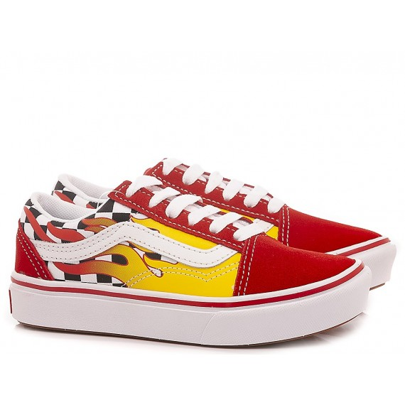 Vans Children's Sneakers Comfycush Old Skool Red