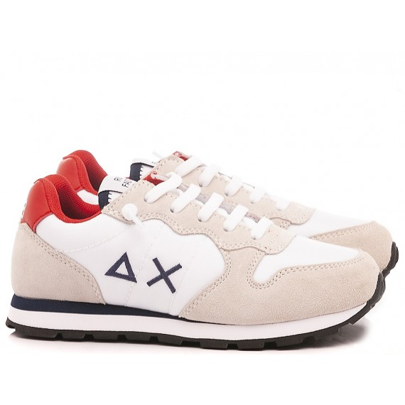 Sun 68 Scarpe-Sneakers Bambini Z30301 Bianco