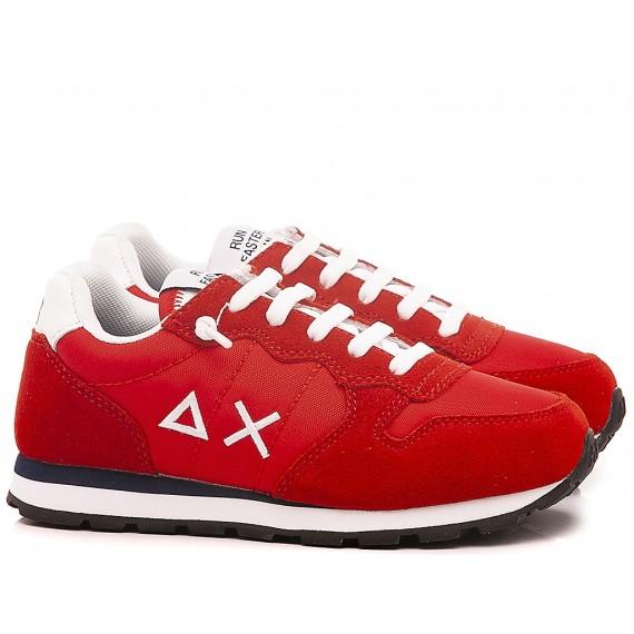 Sun 68 Scarpe-Sneakers Bambini Z30301 Rosso