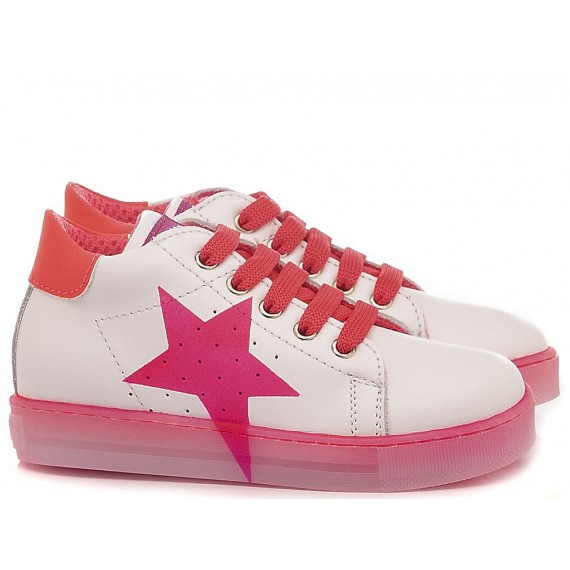 Falcotto Children's Shoes Sneakers Venus White - Pink
