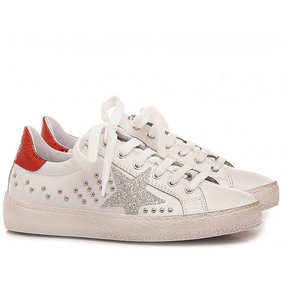 Ciao Sportschuhe für Mädchen Rot Weiße Farbe C3911