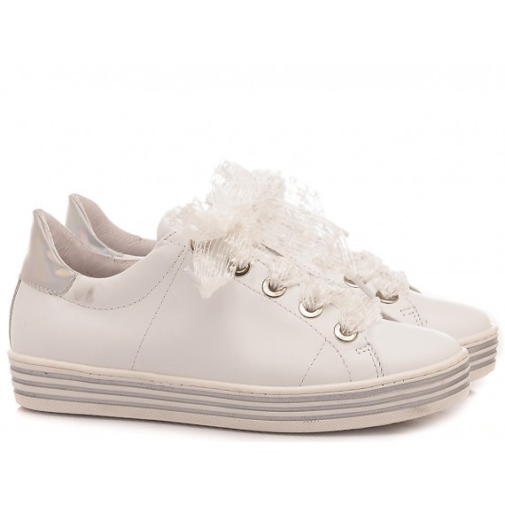 Ciao Children's Sneakers Leather White C3942