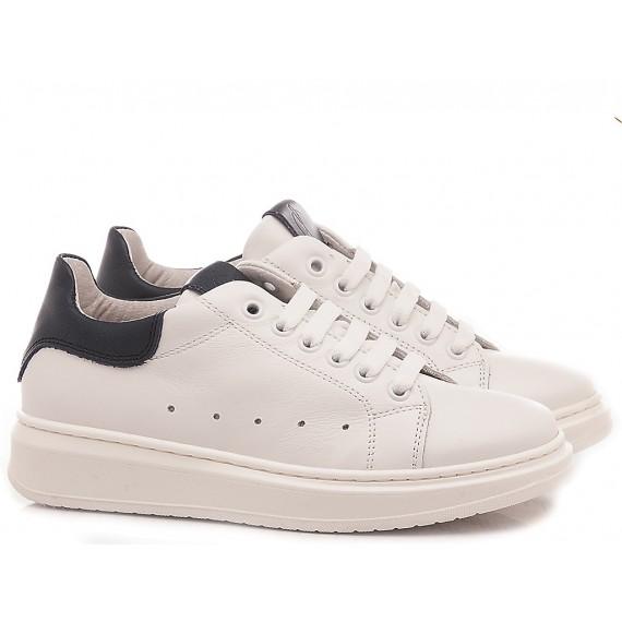 Chiara Luciani Children's Shoes Sneakers 1909 White -Blu