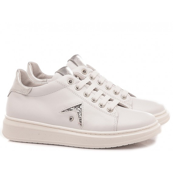 Chiara Luciani Children's Shoes Sneakers 106 White -Silver