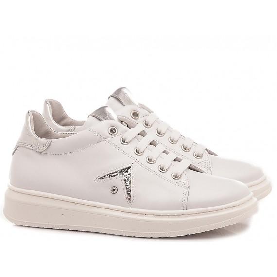 Chiara Luciani Sneakers Bambina 106 Bianco-Argento