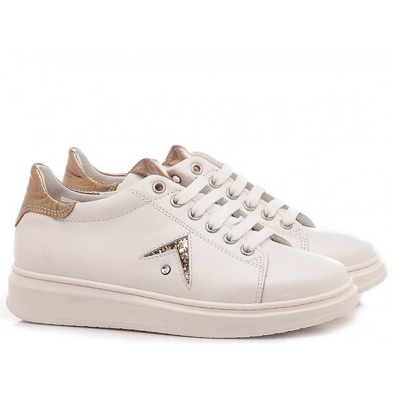 Chiara Luciani Sneakers Bambina 106 Bianco-Oro