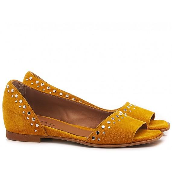 Kammi Women's Ballerina Shoes F0-01 Ocher