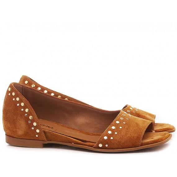 Kammi Women's Ballerina Shoes F0-01 Rust