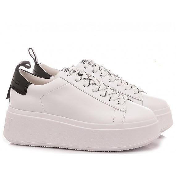 Ash Women's Sneakers Moon White-Black
