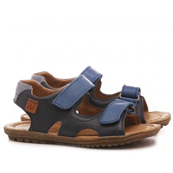Naturino Sandalen für Kinder Sky Blaue Farbe