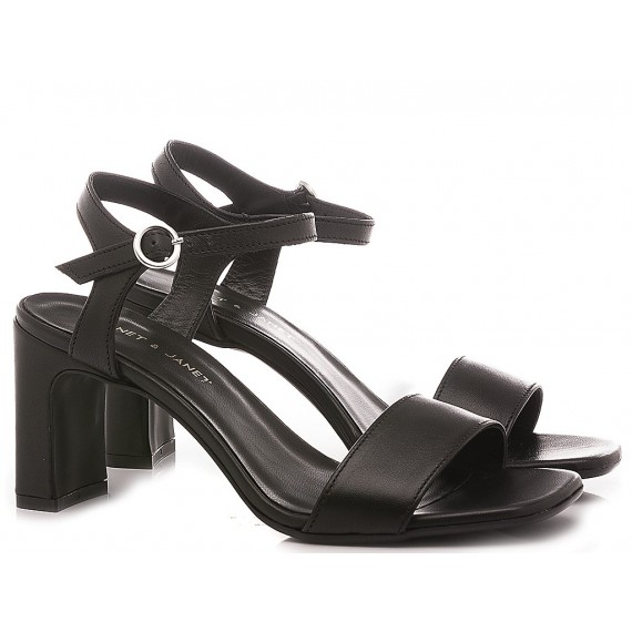 Janet & Janet Women's Sandals Atena Black 45354