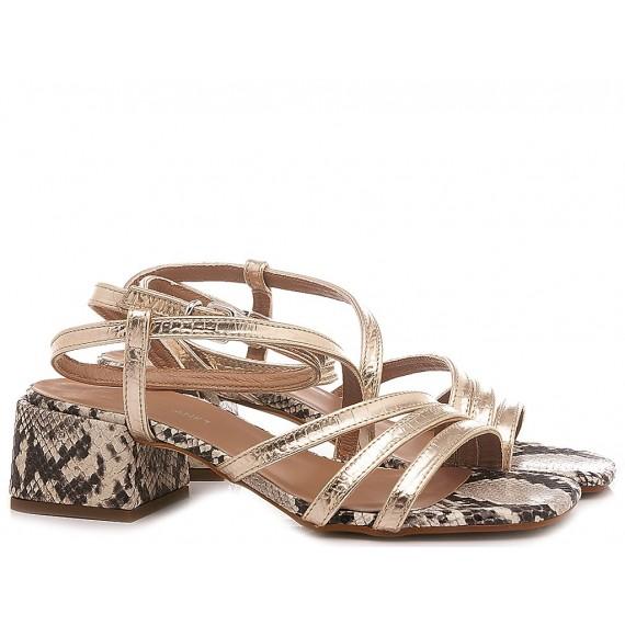 Janet & Janet Women's Sandals Noto Platinum 45203