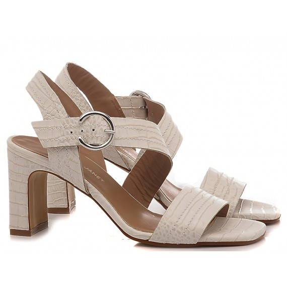 Janet & Janet Women's Sandals Rea Cream 45350