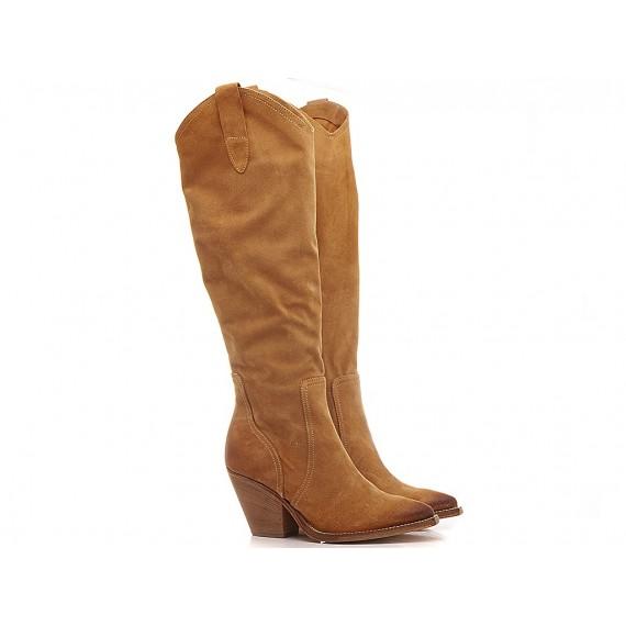 Curiositè Women's Western Boots Suede TX09