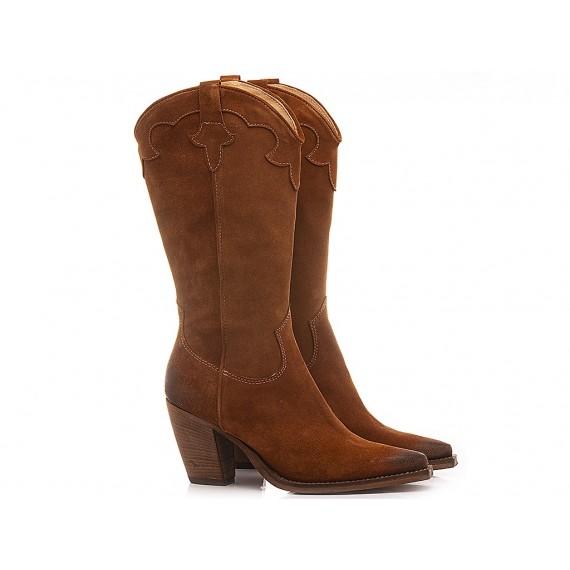 Curiositè Women's Western Boots Suede L212