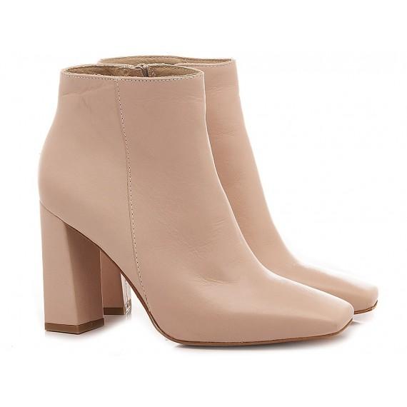 Kammi Women's Ankle Boots Wanda4 Cream