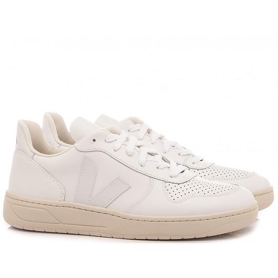 Veja Sneakers Uomo V-10 White VX021270