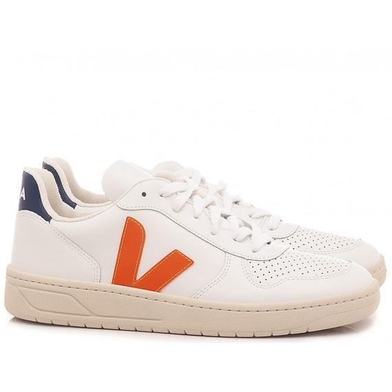 Veja Sneakers Uomo V-10 White VX022136