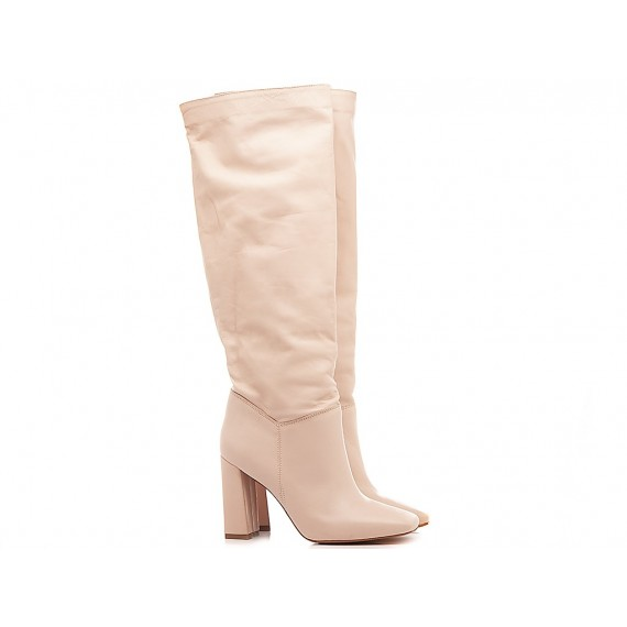 Kammi Women's Boots Wanda782 Cream