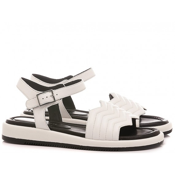 Adele Dezotti Women's Sandals AY1904X White