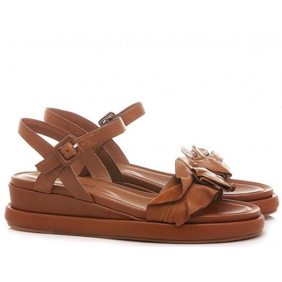 Elvio Zanon Women's Sandals EL0105X Brown