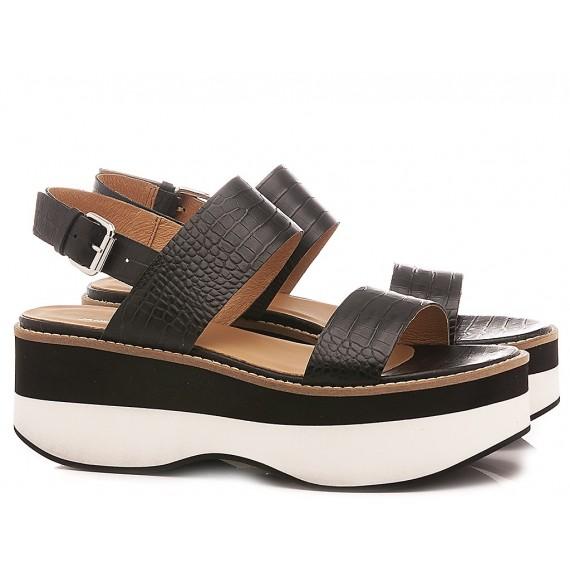 Janet Sport Women's Sandals 45727 Black