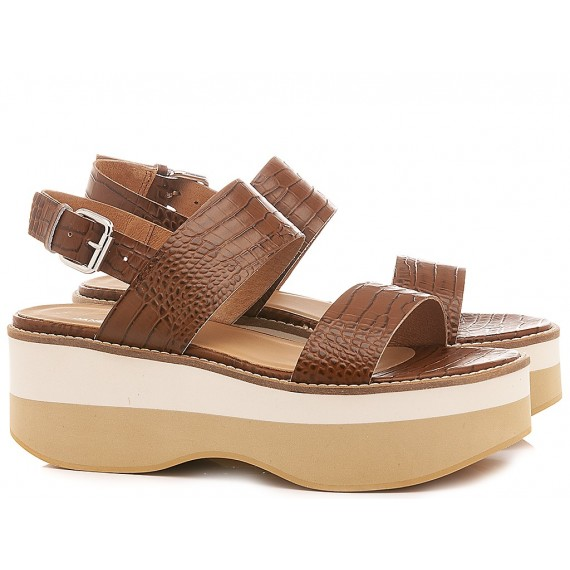 Janet Sport Women's Sandals 45727 Brown