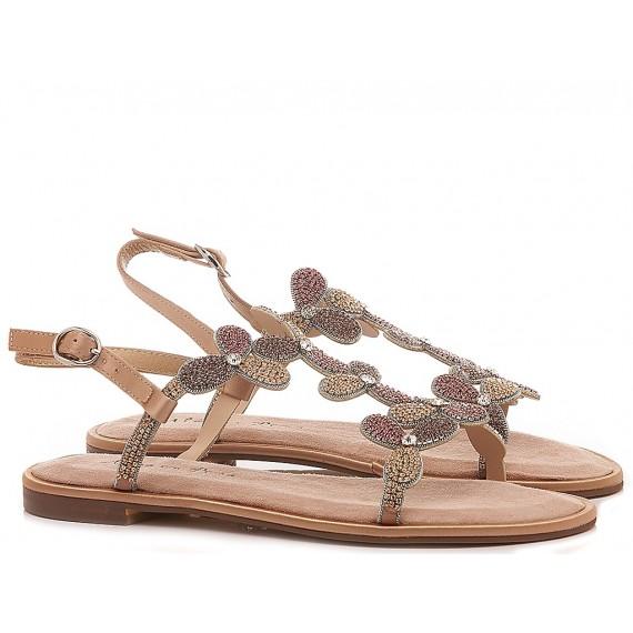 Alma En Pena Women's Shoes-Sandals Low Heels V20970 Taupe
