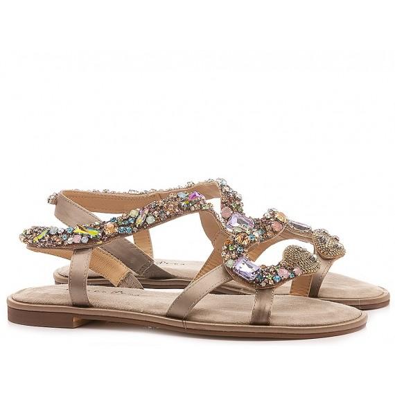 Alma En Pena Women's Shoes-Sandals Low Heels V20932 Taupe