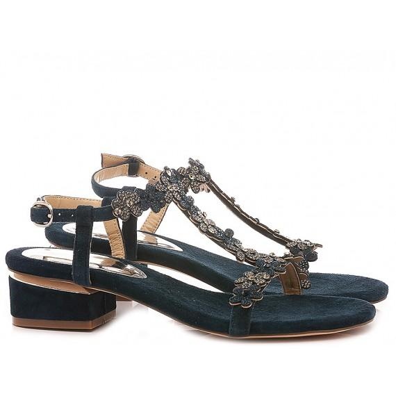 Alma En Pena Women's Shoes-Sandals V20122 Petrol