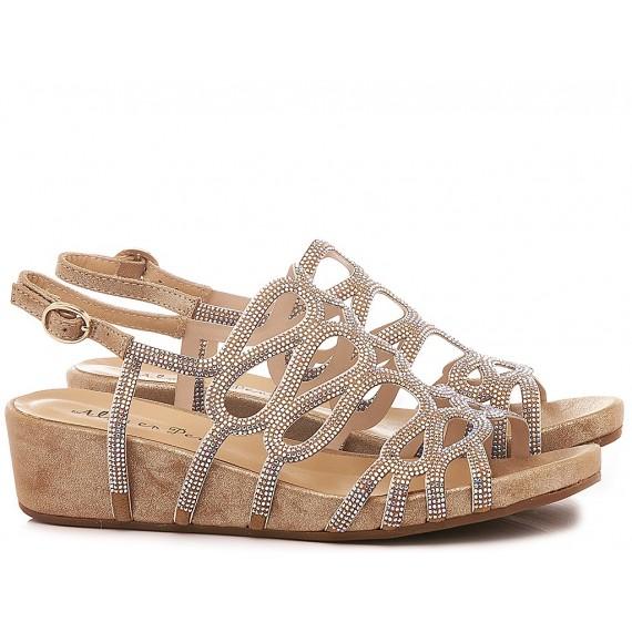 Alma En Pena Women's Shoes-Sandals V20825 Oporto Bronze