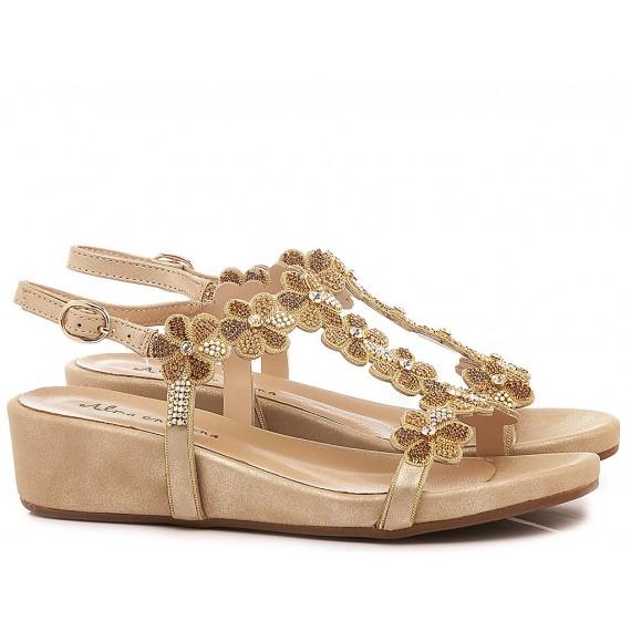 Alma En Pena Women's Shoes-Sandals V20816 Oporto Gold