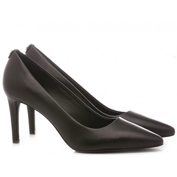 Michael Kors Women's Shoes Decolletè Leather Black