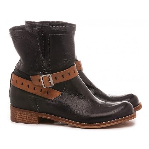 Concept Women's Ankle Boots 520-02 Black