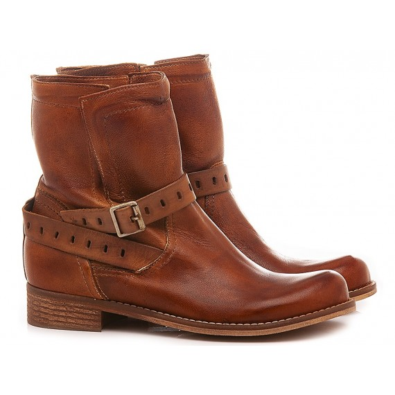 Concept Women's Ankle Boots 520-02 Brown