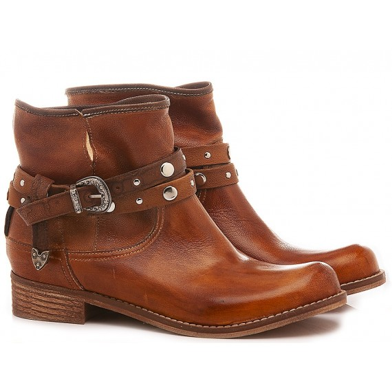 Concept Women's Ankle Boots 520-04 Brown