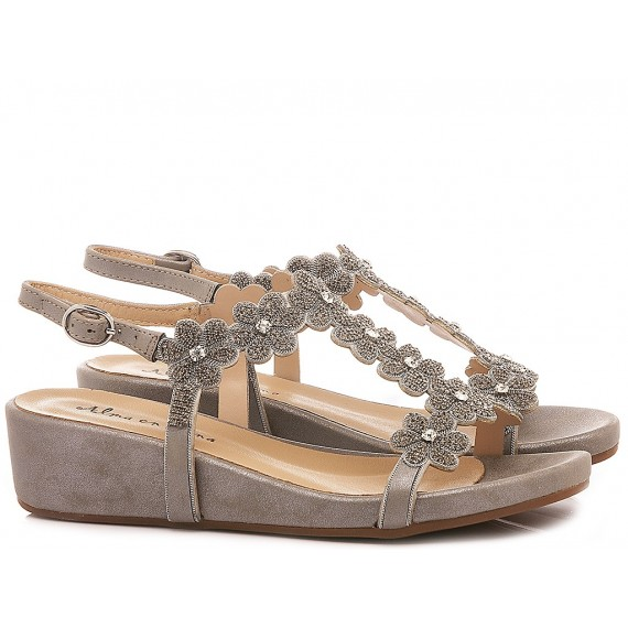 Alma En Pena Women's Shoes-Sandals V20816 Oporto Pewter