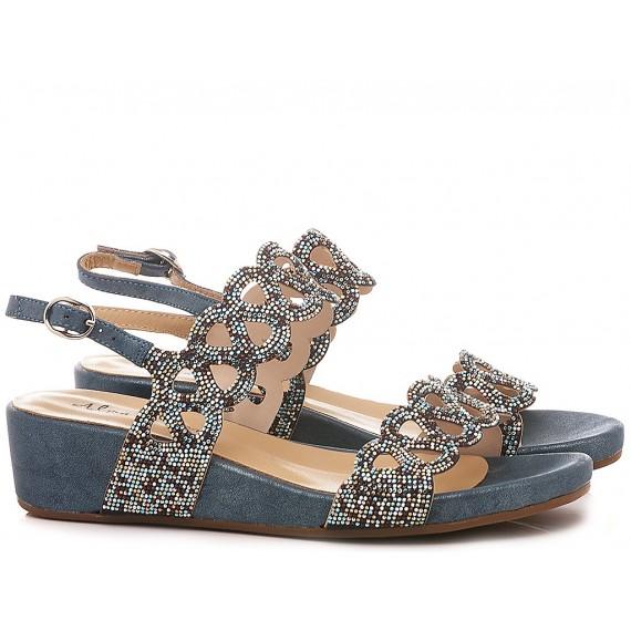 Alma En Pena Women's Shoes-Sandals V20825 Oporto Blue