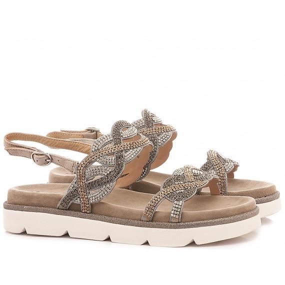Alma En Pena Women's Shoes-Sandals V20446 Suede Taupe