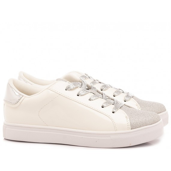 Crime London Sneakers Bambina Beat Bianco