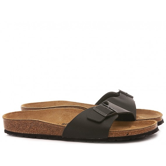Birkenstock Women's Sandals Madrid BS Leather Black