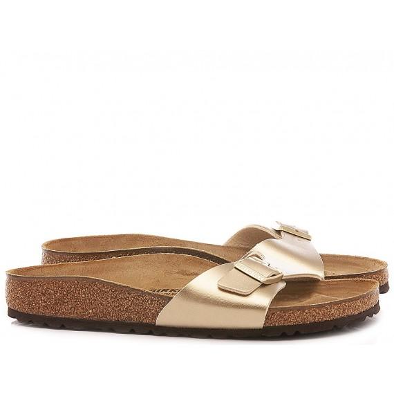 Birkenstock Women's Sandals Madrid BS Leather Gold