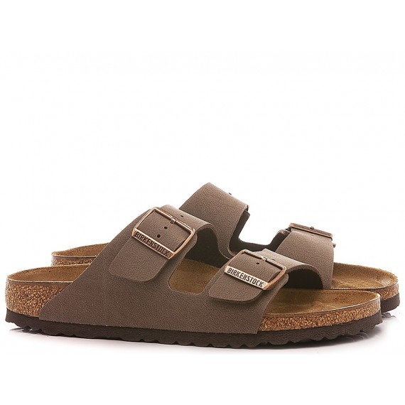Birkenstock Men's Sandals Arizona Leather Mocca