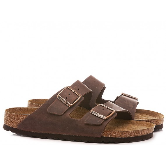 Birkenstock Men's Sandals Arizona Leather Habana