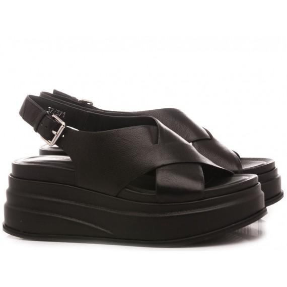 Elvio Zanon Women's Sandals EL3602X Black