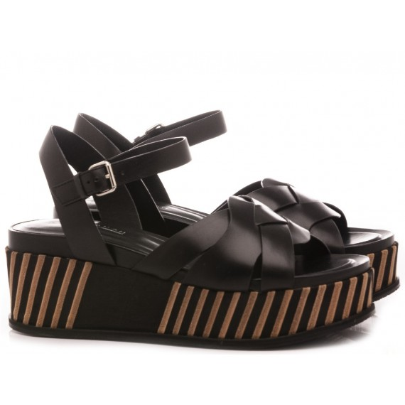 Elvio Zanon Women's Sandals EL1702X Black
