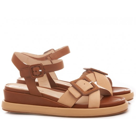 Elvio Zanon Women's Sandals EL0103X Brown