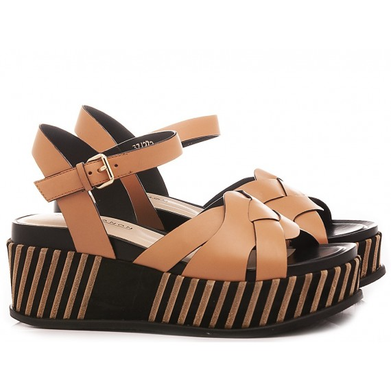 Elvio Zanon Women's Sandals EL1702X Brown