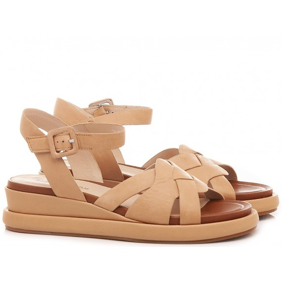Elvio Zanon Women's Sandals EL0102X Nude