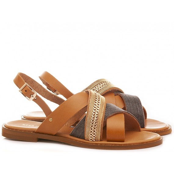 Mosaic Women's Sandals Clio Brown